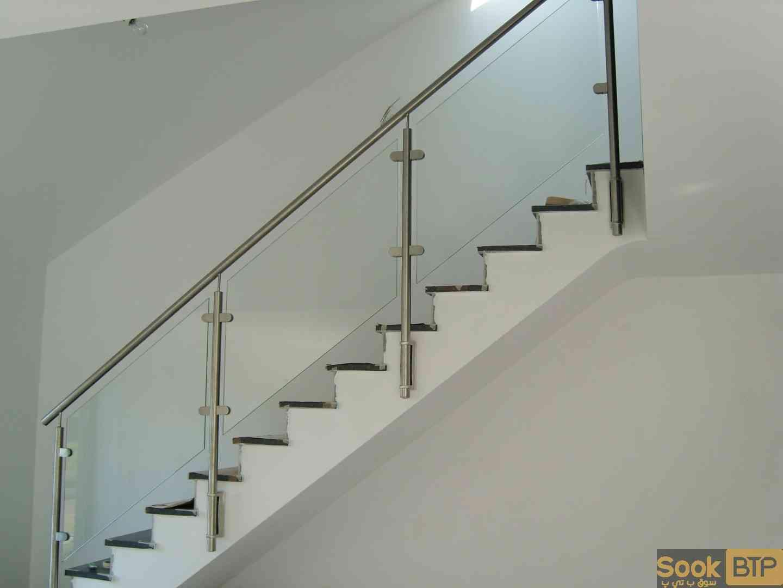 Rampe D Escalier Murale Bois rampe escalier et garde corps en inox - sook btp | site d